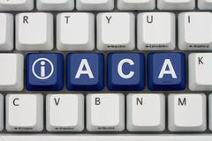 affordable care act information online - stock photo