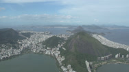 Stock Video Footage of 011 Rio, Helicopter flight, Aerial, Christ the Redeemer, Corcovado, Rodrigo d