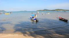 Rawai Beach on Phuket island. Stock Footage