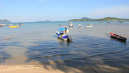 Stock Video Footage of Rawai Beach on Phuket island.