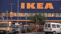 IKEA shop in Catania (Soutern Italy) Stock Footage