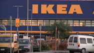 Stock Video Footage of IKEA shop in Catania (Soutern Italy)