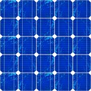 Photovoltaic Energy Pattern Stock Illustration