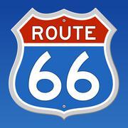 Route 66 Liikennemerkki Piirros
