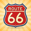 Stock Illustration of Vintage Route 66 Symbol