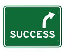 Success Sign - stock illustration