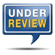 Under review Stock Illustration