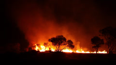 Bushfire 4 Stock Footage