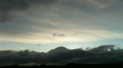 Clouds Approaching Stock Footage