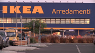 Stock Video Footage of IKEA, Italy, Catania,