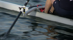 Row, Rowing, Crew, Regatta Stock Footage