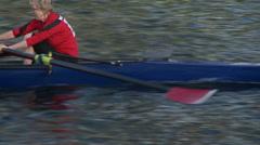 Row, Rowing, Crew, Regatta Stock Footage
