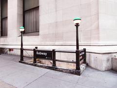 New york city, usa, lokakuu 2009: Broad St metroasema Kuvituskuvat