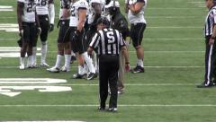 Stock Video Footage of Football Referee, Umpire, Sports, Athletics