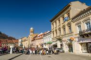 Stock Photo of Brasov Council Square Historical Center