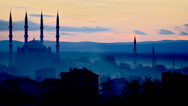 Stock Video Footage of Bayezid II Mosque Edirne's - Turkey
