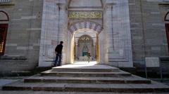 Bayezid II Mosque Edirne's - Turkey Stock Footage