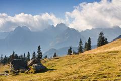 Stock Photo of mountain landscape, tatry, poland