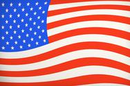 Stock Photo of vintage american flag