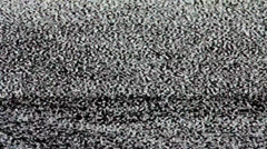 tv screen no signal, static noise and tv static fill the screen (loop). hd - stock footage