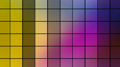 Abstract flashing squares episode 2 Stock Footage