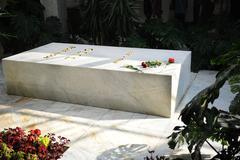 jovanka broz buried next to her husband josip broz tito - stock photo
