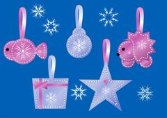 Decoration for christmas Stock Illustration