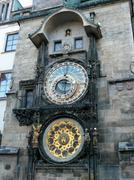 Prague astronomical clock, czech republic Stock Photos