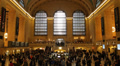 Commuters Tourists Flood Grand Central Station Afternoon Rush Hour New York City Footage