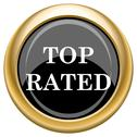 Stock Illustration of top rated  icon