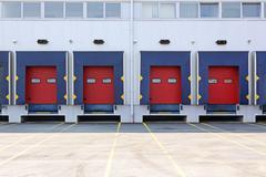 loading dock - stock photo