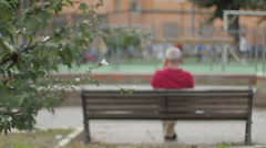 Loneliness Stock Footage