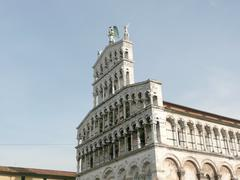 church of san michele in foro, lucca, italy - stock photo