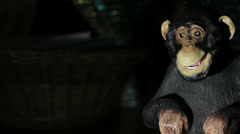 Robot monkey chimp - stock footage