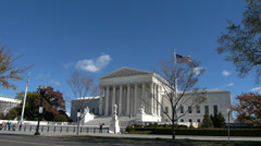 US Supreme Court - stock footage
