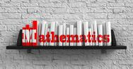 Stock Illustration of Mathematics. Education Concept.
