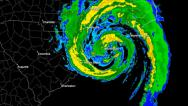 Stock Video Footage of Hurricane Bertha (1996) Landfall Time Lapse