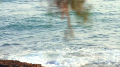 Panorama on the sea Stock Footage