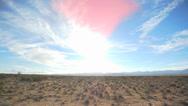 Stock Video Footage of Desert Sunset