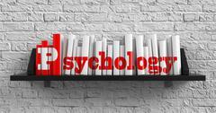 Psychology. Education Concept. Stock Illustration