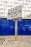 new scotland yard building, london, uk - stock photo