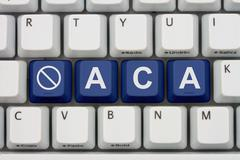 affordable care act not information online - stock photo