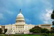 Stock Photo of united states capitol building in washington, dc