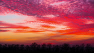 Stock Video Footage of Timelapse With A Beautiful Sunset