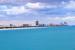 South Beach Florida - stock photo