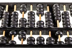 dusty abacus - stock photo