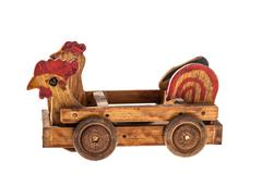 Hen car Stock Photos