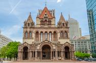 Stock Photo of trinity church, boston