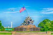 Stock Photo of marine corps war memorial (iwo jima memorial)