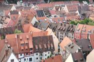 Stock Photo of Nuremberg rooftops